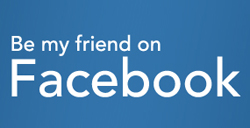 Be my friend on Facebook